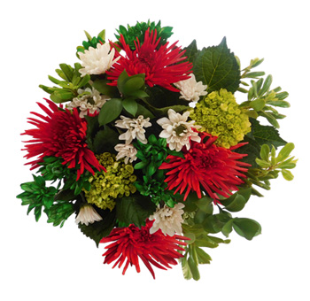 Christmas Spirit Red Centerpieces