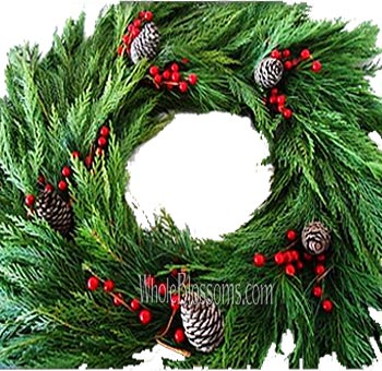 Deluxe Leyland Wreath