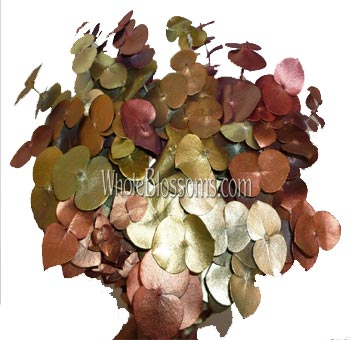 Eucalyptus Metallic Fall Flower Filler