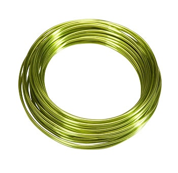 Aluminum Wire 9.5 FT - Apple Green