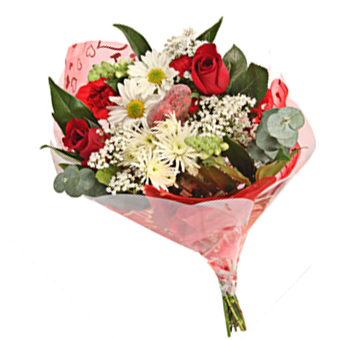 Kind Loving Valentine Flower Bouquet