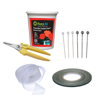 Floral Design Boutonnieres Supply Kit