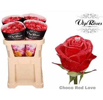 Fragrant Roses Choco Red Love Gift