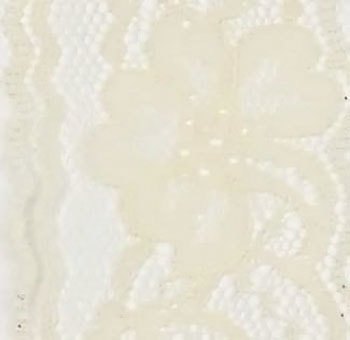 "2"" Vintage Lace Ribbon 25 Yards - Ivory"