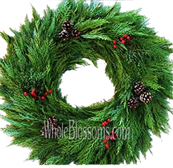 Leyland Mix Wreath