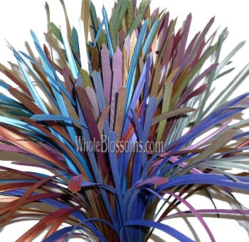 Lily Grass Metallic Mix Fall Flower Filler