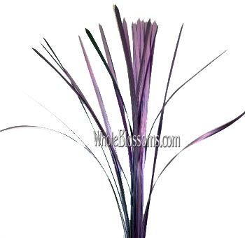 Lily Grass Metallic Pink Flower Filler