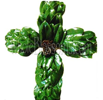 Magnolia Green Cross Flower Filler