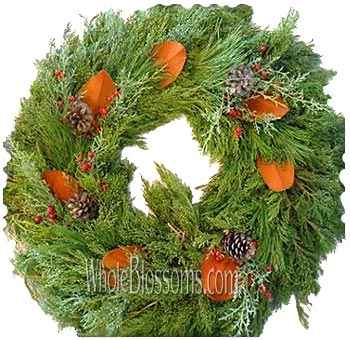 Mix Cedar Wreaths
