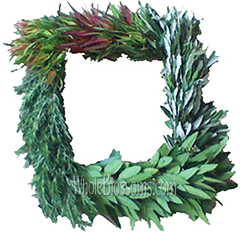 WB Fresh Cut Mixed Squared Wreaths