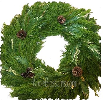 Mix Pine Wreaths