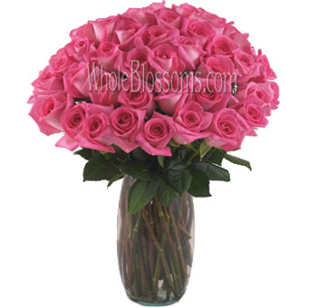 Dark Pink Rose Bouquet