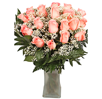 Charming Pink Valentine's Day Flowers