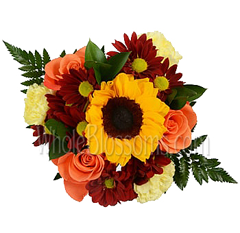 Burst of Sunflower Fall Centerpieces