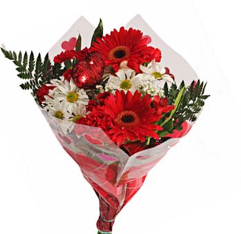 Perfect Valentine Flower Bouquet