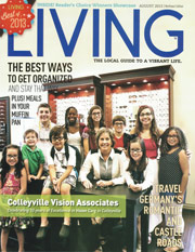 WholeBlossoms Featured in Living Magazine