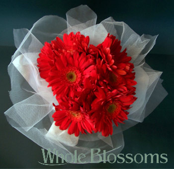 Wedding Centerpieces Red Gerbera