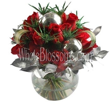 Modern Red Wholesale Rose Flower Arrangements
