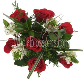Red Wholesale Roses Centerpiece Collection