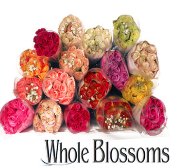 Wedding Centerpieces Assorted Bulk Rose Collection