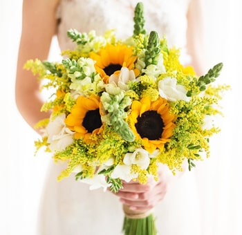 Rustic And Sunny DIY Wedding Flowers Package
