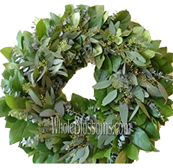 Salal Mix Wreath