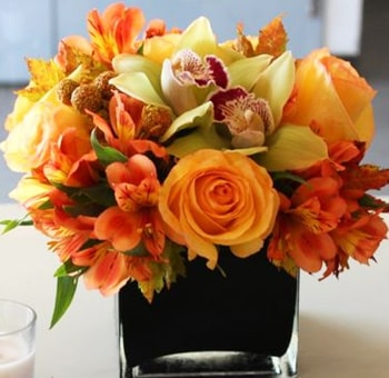 Simple And Sweet Autumn DIY Wedding Flowers Package