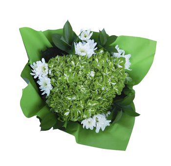 St Patrick Fresh Flowers Bouquet