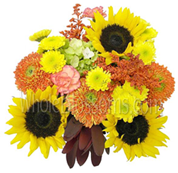 Sunny Delight Centerpieces