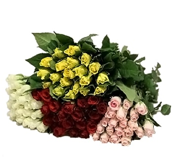 Assorted Sweetheart Roses