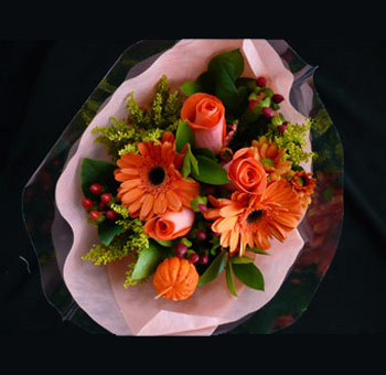 Thanksgiving Flower Centerpiece