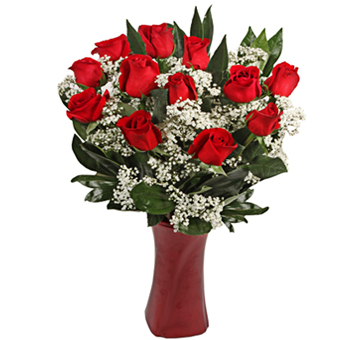 Eternal Love Red Rose Valentine's Day Flowers