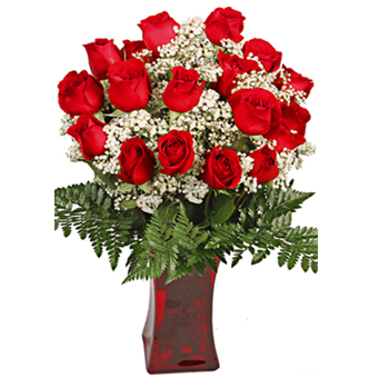 Ravishing Premium Red Rose Valentine's Day Flowers