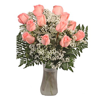 Belladona Pink Valentine's Day Flowers