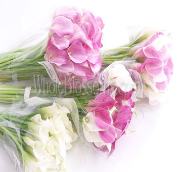 Wedding Bouquets Mini Calla lily Flowers