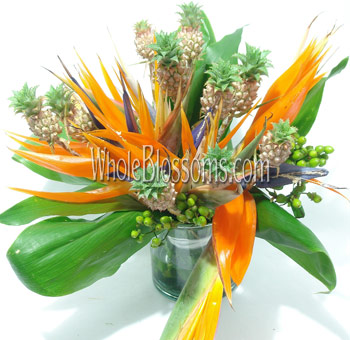 Birds of Paradise Wedding Centerpieces