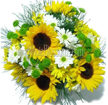 Buy Sunflower Wedding Centerpieces For Sale