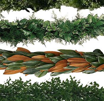 Wholesale Christmas Garland At Bulk Fresh Greenery Garland