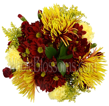 Autumn Heat Fall Centerpieces