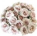 Bridesmaid Dusty Pink Garden Roses