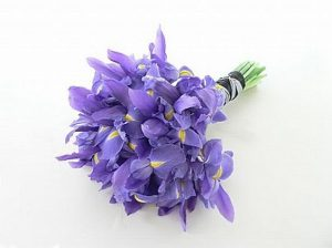 Iris wedding flowers