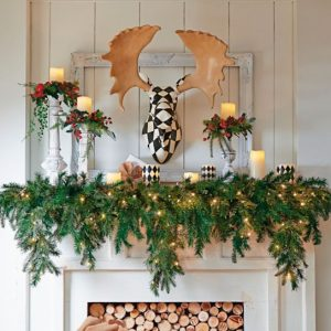 wreaths, garlands and swags