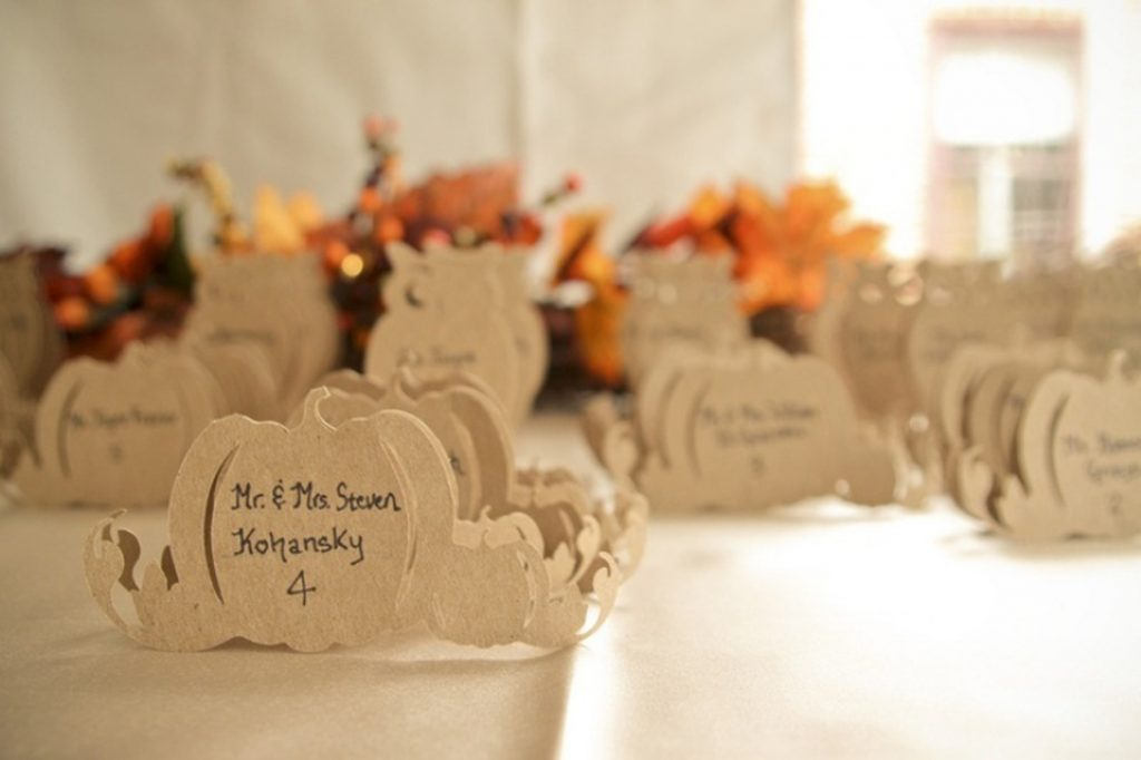 Sweet seating escort cards