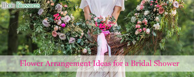 Flower Arrangement Ideas for a Bridal Shower