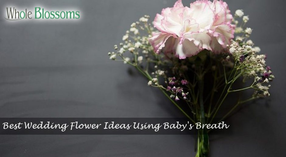 Best Wedding Flower Ideas Using Baby's Breath