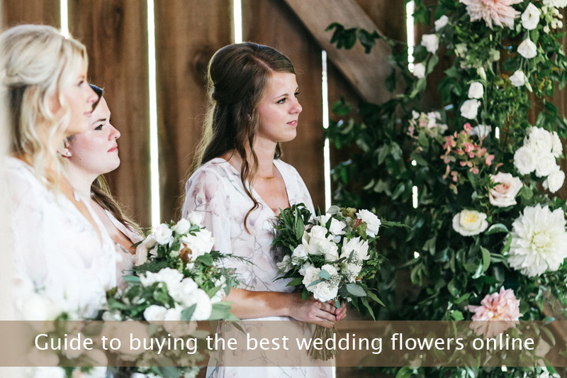 Guide to buying the best wedding flowers online