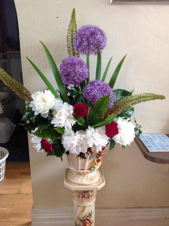 Allium Flower Arrangements
