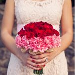 Carnation Wedding Bouquet