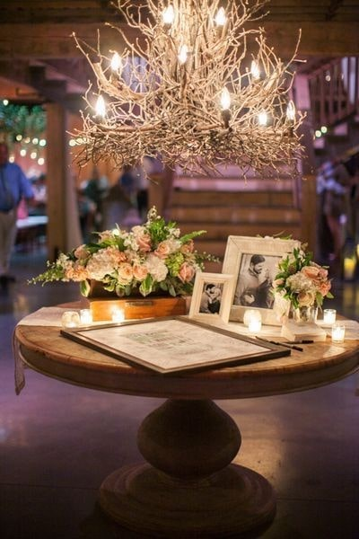 Guestbook table decoration ideas