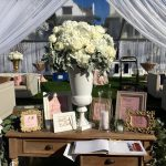 Elegant Guestbook Table Decoration